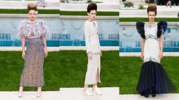Строгие силуэты и аккуратная вышивка: Chanel показали коллекцию возле бассейна