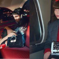 На заднем сидении автобуса: дочери Мадонны и Умы Турман блеснули в кампании Miu Miu