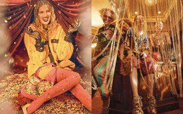 Украинская модель снялась в одежде Gucci
