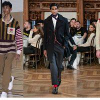 Узкие брюки и рубашки без воротников: в Лондоне представили новую коллекцию Дэвида Бекхэма