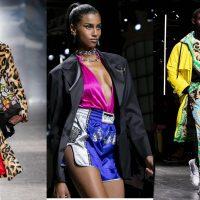 Джинсовые мини-юбки и много декора: Versace презентовали кампейн осень-зима 2019