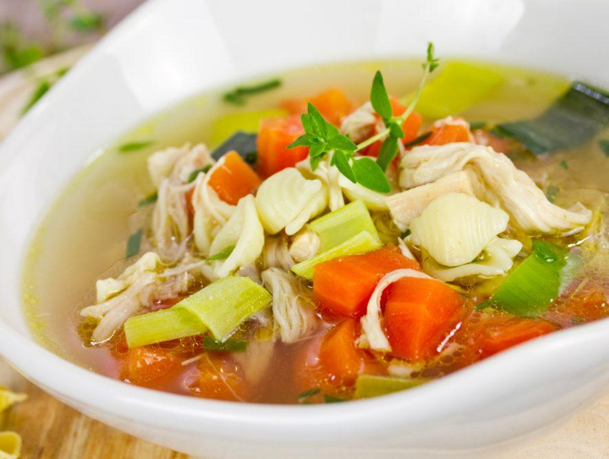 Легкий восстановительный суп: рецепт