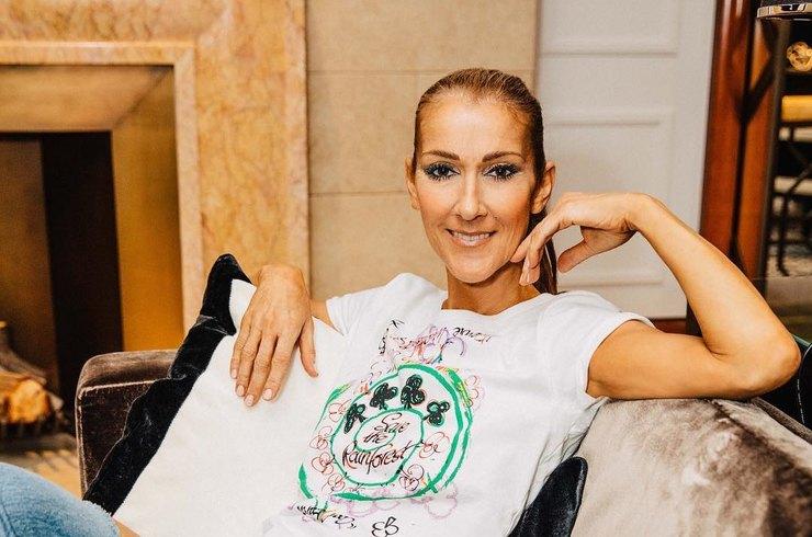 Селин Дион впервые объявили послом косметического бренда