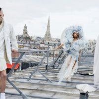 Ассиметричные платья и маски животных: Vivienne Westwood представили весенный лукбук