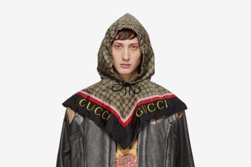 """Gucci выпустили линейку капюшонов в """"бабушкином"""" стиле"""
