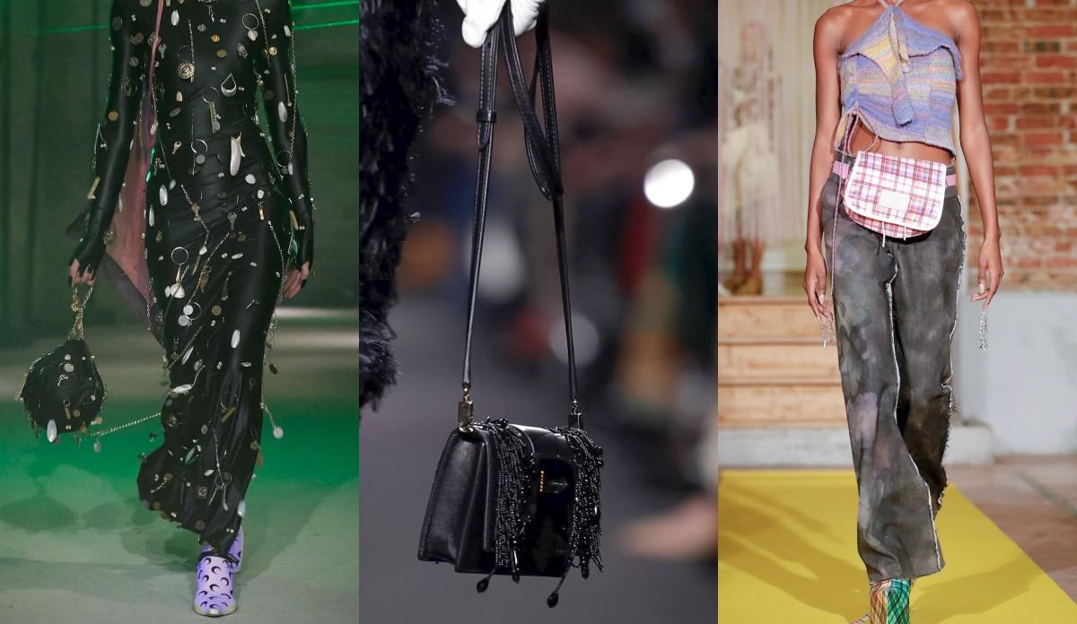 f4a662fbd308 Сумки-мешки, тоут, чемоданы: самые желанные аксессуары с Парижской недели  моды