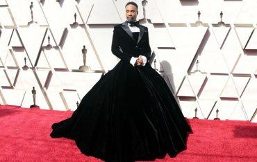 """""""Стоит мужчине появиться в платье — моря выходят из берегов"""": Билли Портер рассказал о своем наряде"""