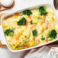 Просто и вкусно: запеканка из макарон и овощей
