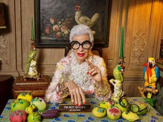 97-летняя икона стиля Айрис Апфель заключила первый модельный контракт