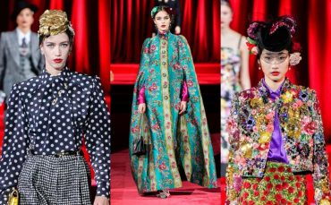 Леопардовый принт, юбки миди, шляпки с вуалью: в Милане прошел показ Dolce & Gabbana