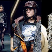 Шубы, блестящие ткани, яркие принты: Versace показали новую коллекцию