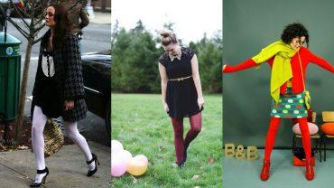 Гид по fashion: с чем носить цветные колготки