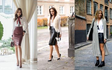 Гид по fashion: с чем носить кожаную юбку