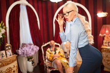Оля Полякова примерила роль первой леди страны