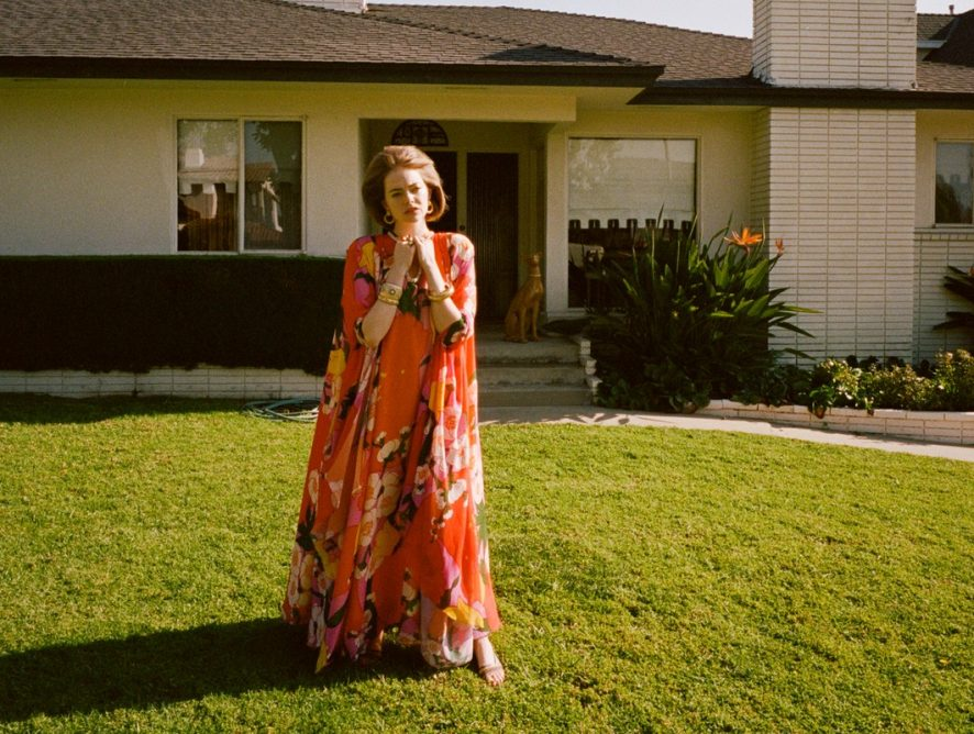 Эмма Стоун украсила мартовский выпуск американского глянца