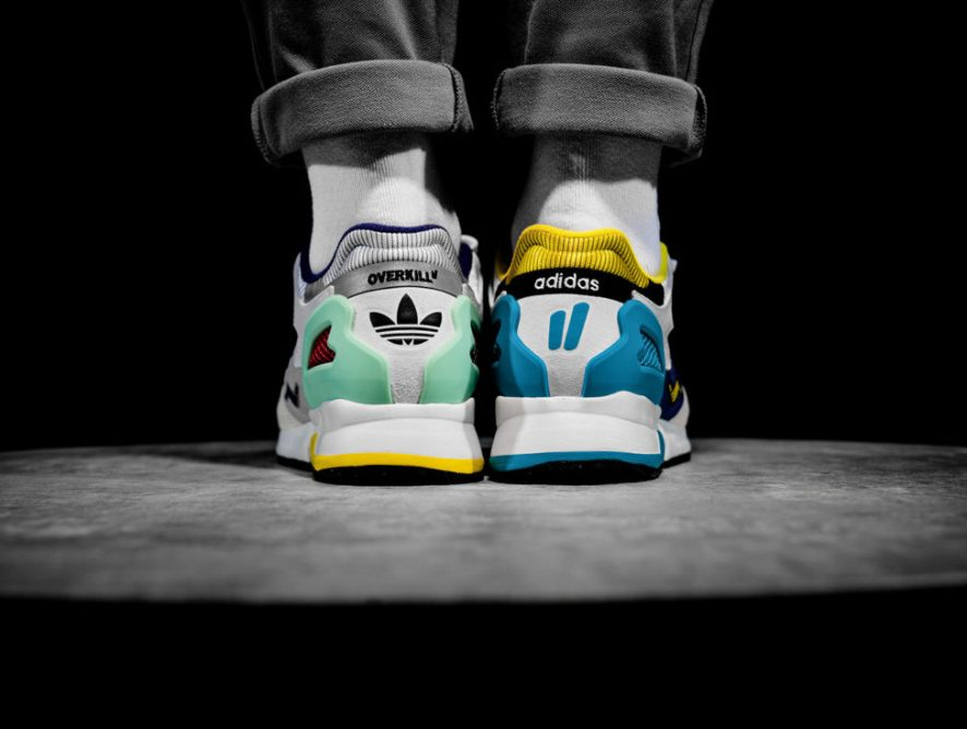 Adidas в колаборации с  Overkill  создали набор с тремя кроссовками