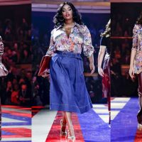 Неделя моды в Париже: Tommy Hilfiger и Зендая показали первую совместную коллекцию