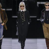 Лаконичные блузы, сапоги, клетчатые юбки: CELINE показали неожиданную коллекцию