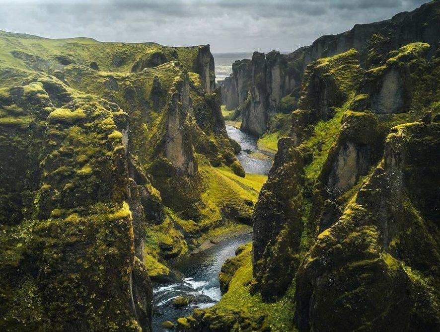 В Исландии из-за Джастина Бибера для туристов закрыли живописный каньон