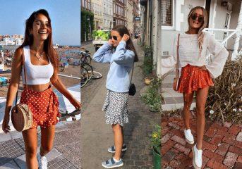 Гид по fashion: как носить юбки с воланами