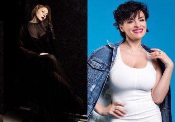 Кароль в прозрачном платье и Мейхер в дениме: самые стильные наряды украинских знаменитостей за неделю