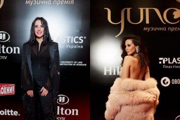 Джамала в тренче, Каменских в шубе: топ-7 удачных образов с красной дорожки YUNA 2019