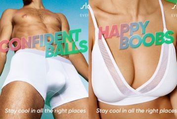 """""""Уверенные в себе яйца"""": немецкий бренд Sloggi выпустил провокационную кампанию"""