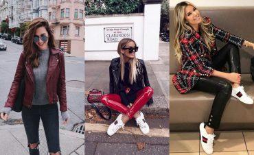 Гид по fashion: как носить кожаные вещи этой весной