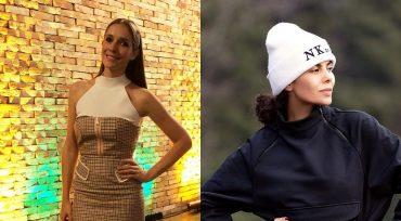Осадчая в клетку и спортивная Каменских: модные образы украинских звезд за неделю