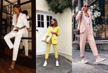 Гид по fashion: как носить брючные костюмы