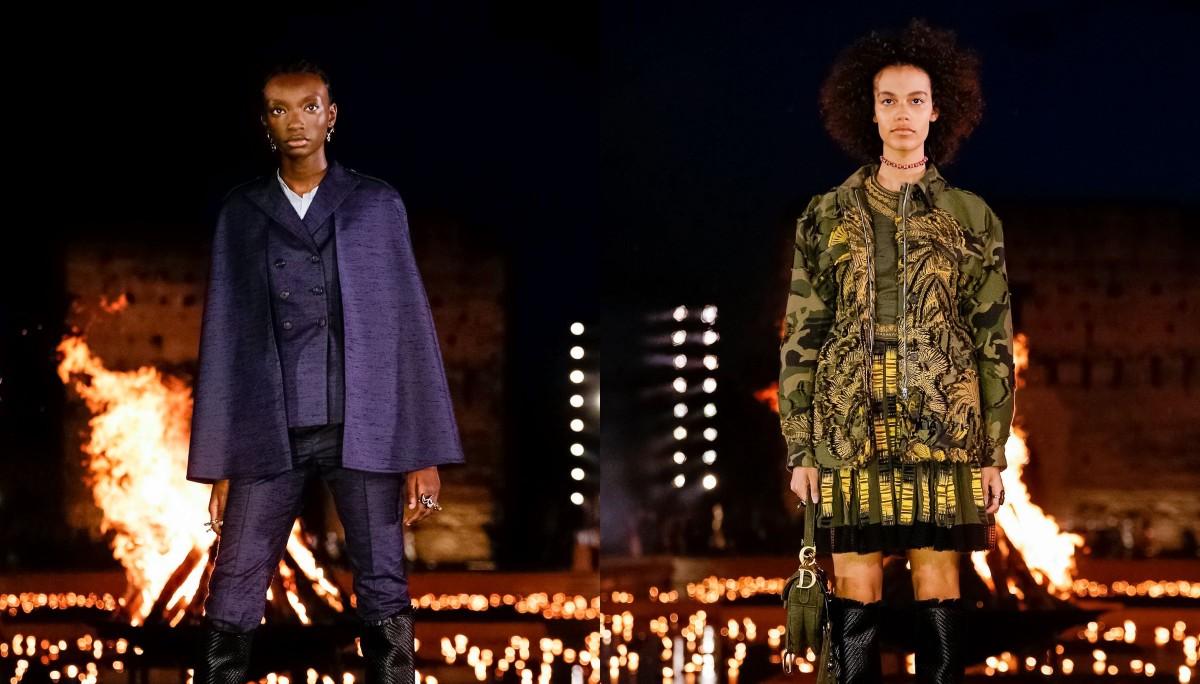 Много принтов и волшебство Марокко: Dior показали круизную коллекцию 2020