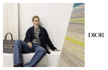 Дженнифер Лоуренс представила новую коллекцию Dior