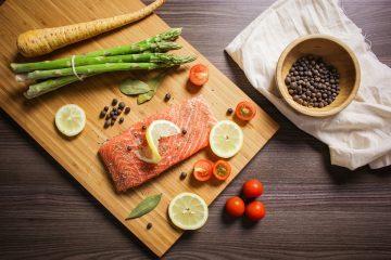 Великий пост: горбуша с овощами в духовке