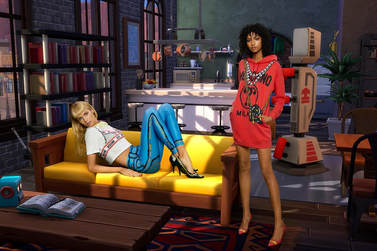 Бренд Moschino выпустил коллекцию по мотивам The Sims