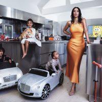 Официально: Ким Кардашян стала мамой в четвертый раз