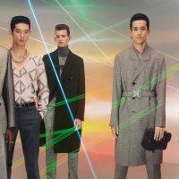 Лазеры, моно-серьги и ботинки: Dior Men показали футуристический кампейн