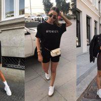 Гид по fashion: с чем носить велосипедки