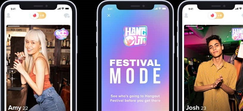 В Tinder появилась новая фестивальная функция