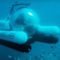 """Uber впервые запустит """"подводное такси"""""""