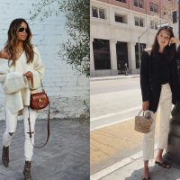 Гид по fashion: с чем носить белые джинсы