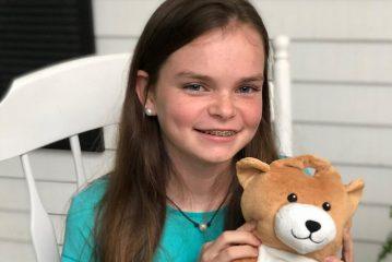 Medi Teddy: юная американка придумала больничного мишку для капельниц
