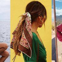 Гид по fashion: как носить шелковый платок