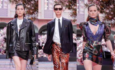 Брюки из винила и длинные плащи: дом Versace представил коллекцию Men's Spring 2020
