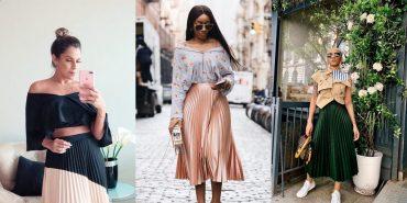 Гид по fashion: как носить плиссированные юбки