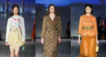Шелковые блузы и прозрачные юбки: как прошел показ круизной коллекции Chloe