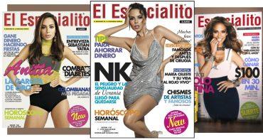 Настя Каменских снялась для обложки латиноамериканского журнала