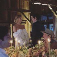 Перри, Блум и другие повеселились на свадебной вечеринке модели Карли Клосс