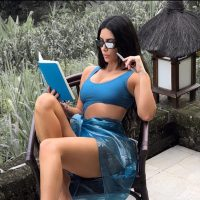 Ким Кардашян анонсировала выход секретного средства для тела