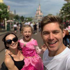 Владимир Остапчук с дочкой показал мастер-класс по танцам