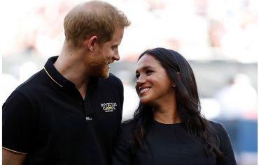 Принц Гарри и Меган Маркл опубликовали фото с крестин сына